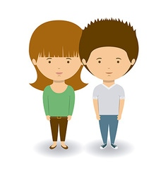 Couple design vector