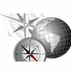 Compass america vector