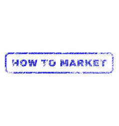 How to market rubber stamp vector