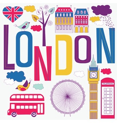 london artistic vector image