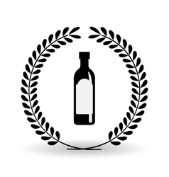 olive oil icon design vector image vector image