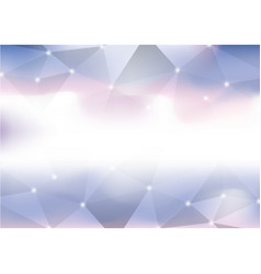 Technological colorful triangle abstract vector