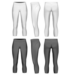 Womens 34 length compression vector
