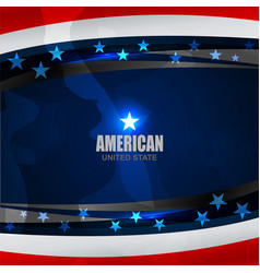 American flag color texture vector