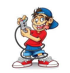 Crazy Game Boy vector image
