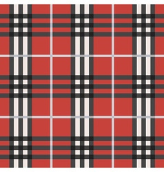 Plaid pattern vector
