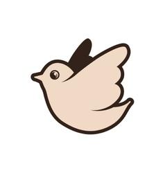 Dove icon bird design graphic vector