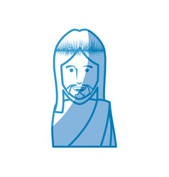Jesus christ icon vector