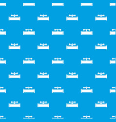 plumbing valve pattern seamless blue vector image