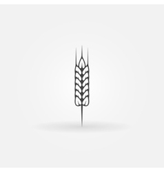 Wheat icon or logo vector image