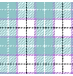 Blue tartan plaid baby color seamless pattern vector image