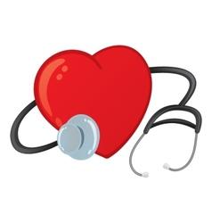 Healthy heart vector image