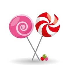 Sweet icon design vector