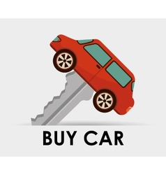 Buy car vector