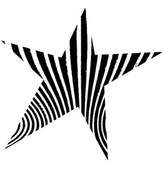 Star abstract vector