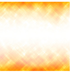 abstract yellow square background vector image