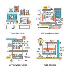 Design and development vector