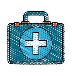 aid kit vector image vector image