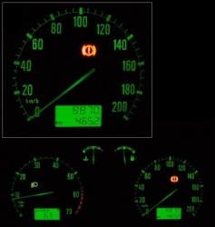 Car panel vector
