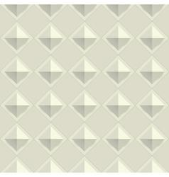 Texture diamond plate seamless Metal or plastic vector image