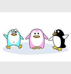 Three kinds of penguin vector