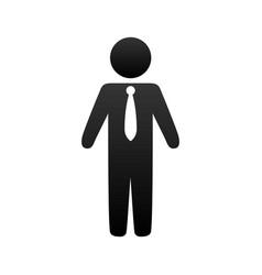Man pictograms symbol vector