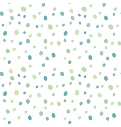 Gentle blue dots seamless pattern vector image