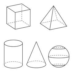 Geometry vector image vector image