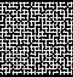 Seamless pattern labyrinth pattern maze pattern vector
