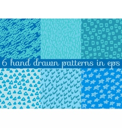 Seamless wallpaper pattern background vector