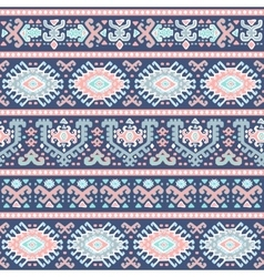 Tribal Mexican vintage ethnic seamless pattern vector image
