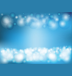 circular light blue background vector image vector image