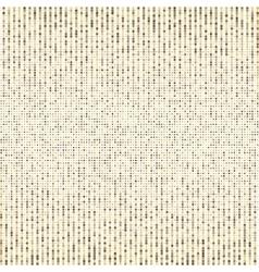 Halftone Halftone dots Golden pixel vector image