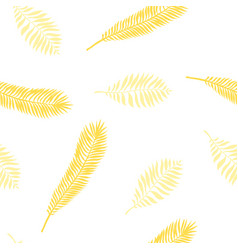 hand drawn tropic seamless pattern vector image