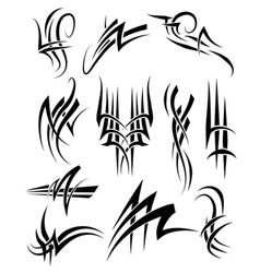 Tribal frills vector
