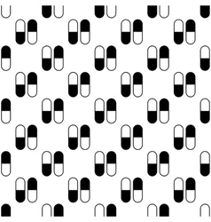 Pill pattern seamless vector