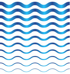 abstract seamless wave pattern vector image