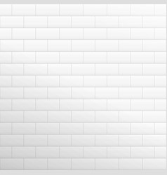 brick wall light background white texture vector image