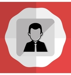 Businessmen round icon graphic vector