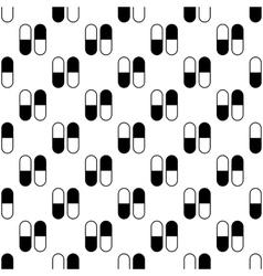 Pill pattern seamless vector