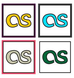 Set of lastfm icon background logo design lastfm vector