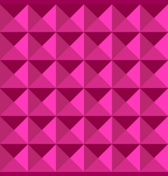 Dimension pattern pink color vector