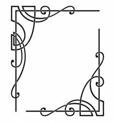 corners vector image vector image