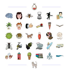 nature medicine business and other web icon in vector image
