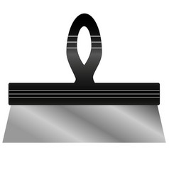 Putty knife vector