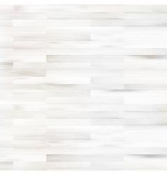 White wooden parquet flooring  EPS10 vector image
