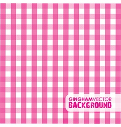Gingham pinky vector
