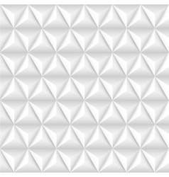 Abstract background with white pyramids vector