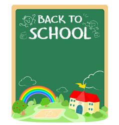 Back to school poster design xaxa vector