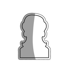 Female woman silhouette vector